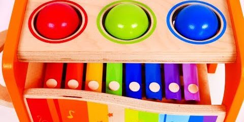 Learn Colors with Pounding Table Toys for Toddlers