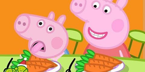 Peppa Pig English Episodes  Vegetables for George   Peppa Pig Christmas | Peppa Pig Official