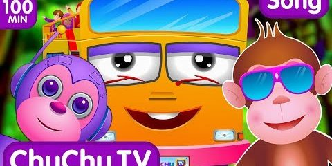 Five Little Monkeys Jumping On The Bed and Many More Popular Nursery Rhymes Collection By ChuChu TV