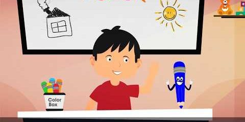Blue Song | Colors for Kids | Learning for Kids