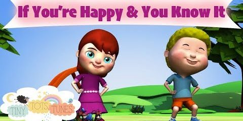 If You're Happy & You Know It | Nursery Rhymes & Children's Songs for Kids | Tiny Tots Tunes