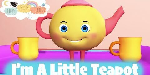 I'm A Little Teapot | Nursery Rhymes & Children's Songs for Kids | Tiny Tots Tunes