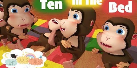 Ten in the Bed | Nursery Rhymes & Children's Songs for Kids | Tiny Tots Tunes