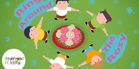 Ring Around the Rosy | Nursery Rhymes & Kids Songs | Cartoons 4 Kids