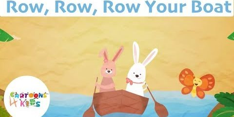 Row Row Row Your Boat | Nursery Rhymes & Kids Songs | Cartoons 4 Kids