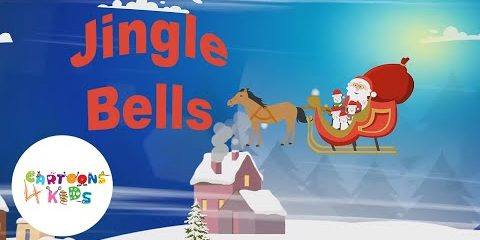 Jingle Bells | Nursery Rhymes & Kids Songs | Cartoons 4 Kids