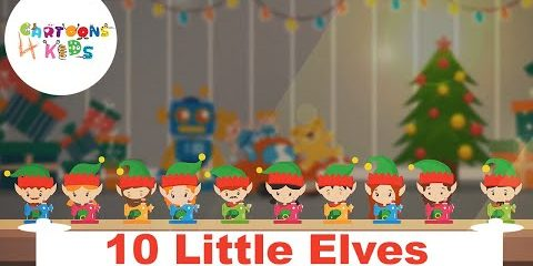 10 Little Elves | Nursery Rhymes & Kids Songs | Cartoons 4 Kids